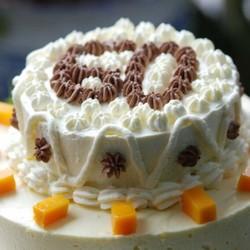 双层生日蛋糕