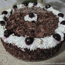 轻奶油黑森林蛋糕