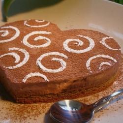 奶酪巧克力慕斯蛋糕
