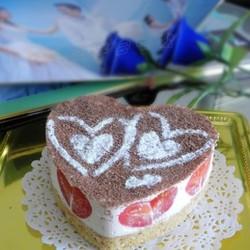 番茄芝士慕斯蛋糕
