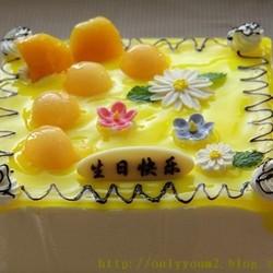 哈密瓜慕斯蛋糕