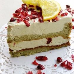 蔓越莓抹茶慕斯蛋糕