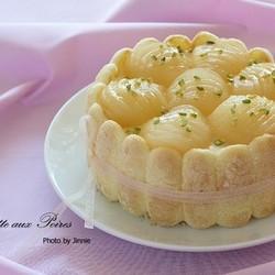 洋梨慕斯生日蛋糕