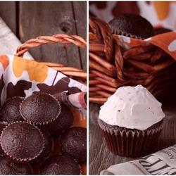 巧克力蛋黄酱纸杯蛋糕