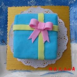 翻糖蛋糕礼物盒