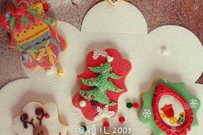 圣诞系列:翻糖饼干