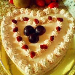蔓越莓酸奶慕斯蛋糕