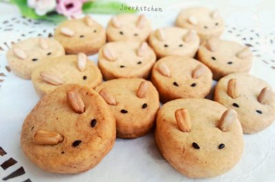 全麦兔子饼干