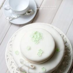 自制糖皮翻糖蛋糕