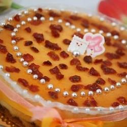 椰味南瓜芝士蛋糕