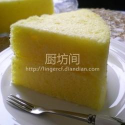 柠檬蒸蛋糕