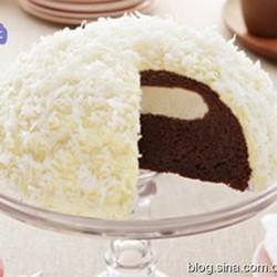 雪球巧克力蛋糕