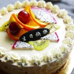 香蕉奶酪慕斯蛋糕