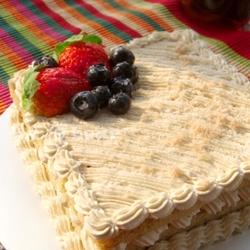 红茶栗子蛋糕