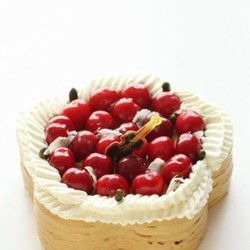 芒果慕斯可丽饼蛋糕