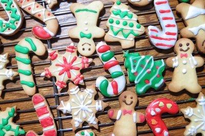 家庭版翻糖圣诞饼干