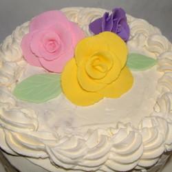 奶油翻糖花蛋糕