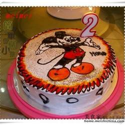 米奇生日蛋糕
