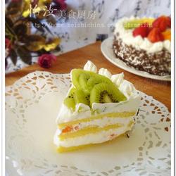 什锦水果奶油蛋糕