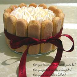 卡士达慕斯蛋糕
