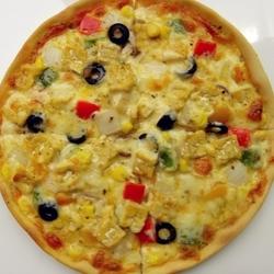 天贝蔬菜披萨