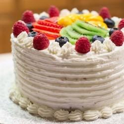 鲜奶水果戚风蛋糕