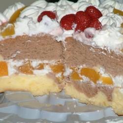 双色生日蛋糕