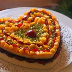 心心相印水果芝士蛋糕