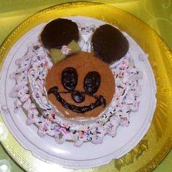戚风蛋糕之生日蛋糕