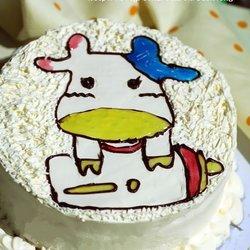 小牛生日蛋糕