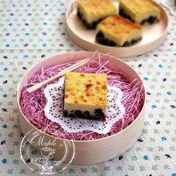 蜜豆乳酪蛋糕