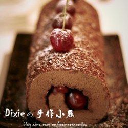 黑森林蛋糕卷