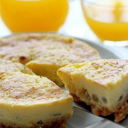 菠萝酥乳酪蛋糕