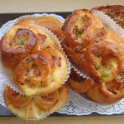 培根乳酪小面包