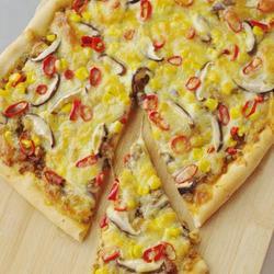 豇豆肉酱披萨