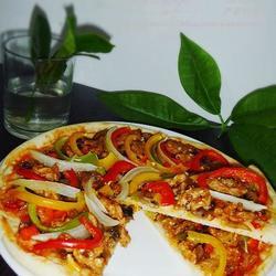 什锦里脊披萨