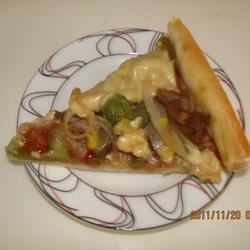 奶酪方形披萨