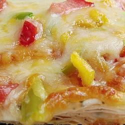 自制蛋黄起酥披萨