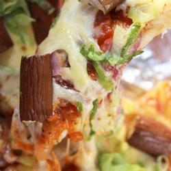茄子生菜披萨