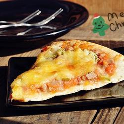 圣诞牛肉披萨