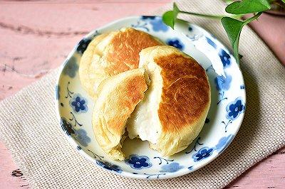 爆浆乳酪面包(平底锅