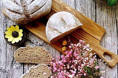 燕麦全麦软欧包