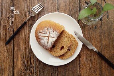红糖蔓越莓全麦面包