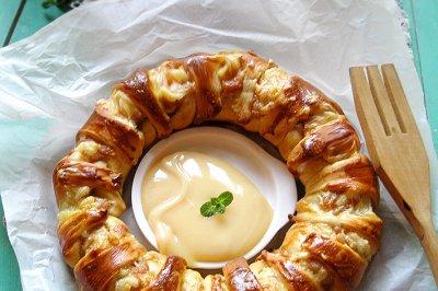 芝士面包环