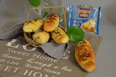 香葱芝士面包条