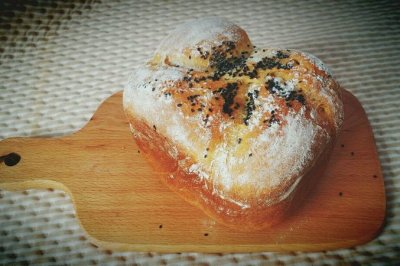 面包机版全麦葡萄干面
