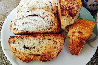 肉桂全麦面包