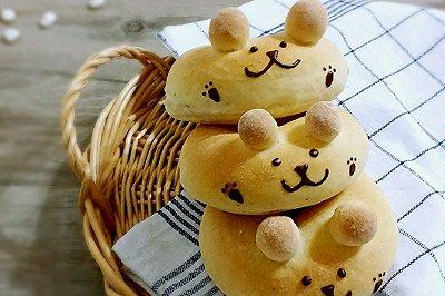 小熊全麦面包圈
