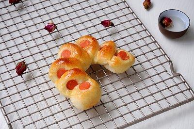 火腿彩虹面包