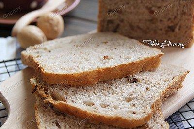 一键式全麦核桃面包